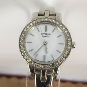 Vintage Citizen Mother-of-pearl dial Silver  Watch
